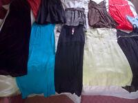 Collection of Ladies Clothes - party dresses, suits etc. Sizes 8 & 10