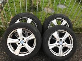 "SET OF 17"" VAN ALLOYS MERCEDES// TRANSIT ECT"