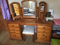 Bedroom Dressing Table with mirrors