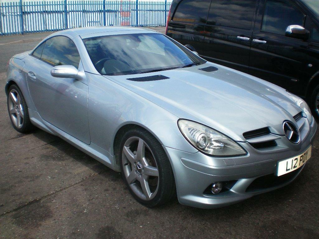 54 plate mercedes benz slk350 v6 amg spec in willenhall for Mercedes benz v6