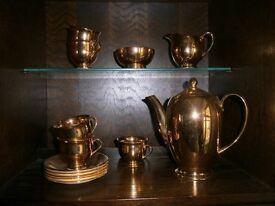 Fabulous gold Royal Winton coffee set