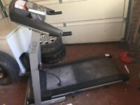 Gym Running treadmill exercise rower rowing cross trainer