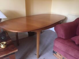 G Plan Style Extendable Dining Table