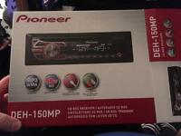 Brand new pioneer car stereo