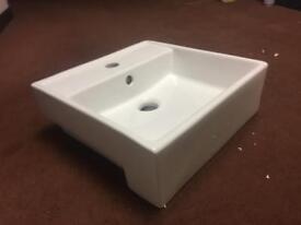 Fitted Moda Bathroom Basin Sink 43x42x18cm