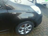 Nissan note drivers side front wing