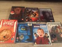 DVD and blu ray collection including box sets