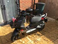 2017 Peugeot Speedfight 4 Derestricted 67 plate Moped