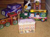 Antique and Collectible tins