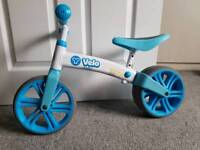 Balance bike for age 2-4 years excellent condition from a pet and smoke free home