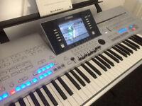 Yamaha Tyros 4 keyboard with Speaker system