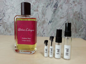 Atelier Cologne - Ambre Nue fragrance samples and decants - HelloScents