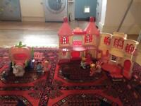Happyland Castle and carriage!