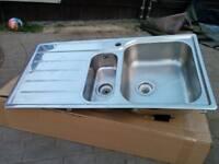 Rangemaster kitchen sink - used