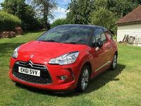 Citroen DS3 1.6 e-HDi Airdream DStyle 3dr - excellent condition, no road tax