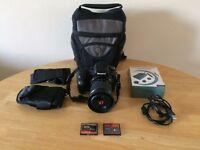 Selling my Sony A200 DSLR camera + accessory bundle