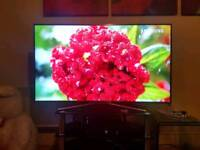 """55"""" SAMSUNG 4K UHD SMART WIFI LED HD TV BUILT IN FREEVIEW WITH REMOTE"""