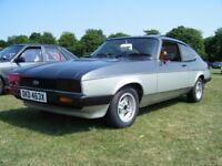 1982 (X) Ford Capri Calypso 1.6 Petrol, 4 (or 5) speed. MOT'd. RARE CLASSIC CAR