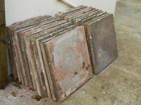 60cm square concrete slabs