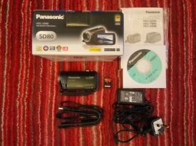 Panasonic HDC-SD80 Full HD Camcorder