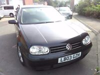 Late 2003 VW Golf 2.8 V6 4 Motion - Quad cam 24v - 4 wheel drive 30+MPG!