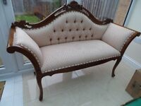 Small sofa/settee antique style