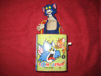 Vintage Tom & Jerry jack in the Box