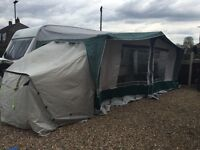 Eurovent Caravan Awning with 2 bedrooms