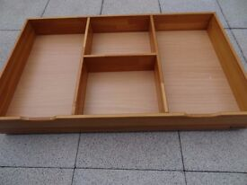 mamas & papas wooden under bed cot storage draw