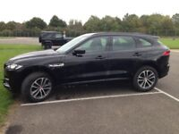 66 plate 2.0 diesel AWD Automatic R-Sport Black leather and interior