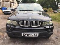 Breaking 2004 BMW X5 4.4 v8 Auto black parts spares breaking