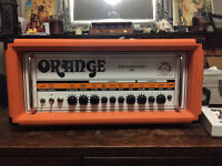 Orange Thunderverb 200 all valve amplifier, great condition.