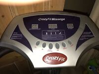 Fantastic power plates - barely used, variants of speed and strong massage vibration