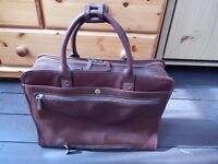 Katana leather briefcase
