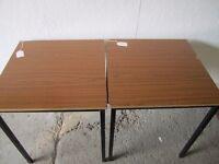 2 X SQUARE TABLES I. D. No. 29/2/17