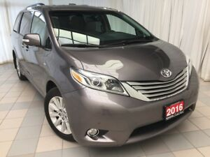 2016 Toyota Sienna Limited AWD, just 29,879 km !