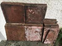 Terracotta slabs