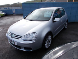 VERY CLEAN 2L DIESEL GOLF DRIVES A1 FREE MOT FOR AS LONG AS U OWN THE CAR ,FULL SERVICE+WARRANTY !!