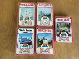 Top Trumps series 2 - 5 packs all complete