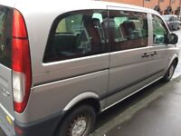 Mercedes Vito cdi Compact Sport Mini Bus 9 Seater 2009 £4699