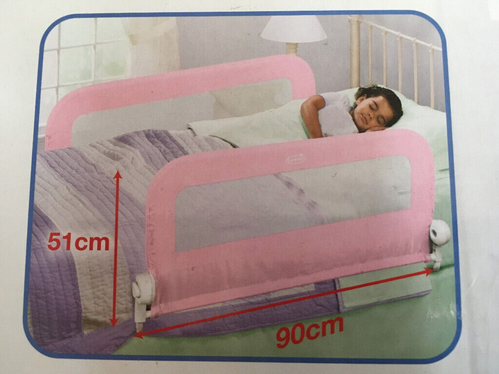 Pink Summer Infant Grow with Me Double Bedrail