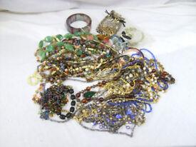 250 pieces of costume jewellery Free P&P