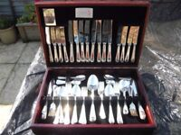 Arthur Price of England County Collection 84 piece Silver plated cutlery Service