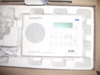 Roberts RD-59 Gemini 59 FM/ DAB Radio - Very Good Condition. In box with ac adapter & instructions