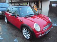 Mini Hatch 1.6 Cooper, 3 door Auto 2002 (02)