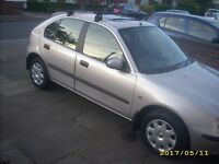 Rover 25 TDi. Low Genuine Mileage 48k New Cambelt Very Clean Body Towbar Great MPG BARGAIN £495
