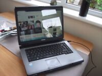 TOSHIBA SATELLITE PRO DUAL CORE WINDOWS 7 LAPTOP WITH OFFICE INSTALLED