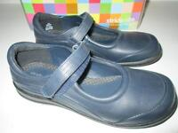 STRIDE RITE Molly Mary Janes - Navy blue leather, size 2 NEW