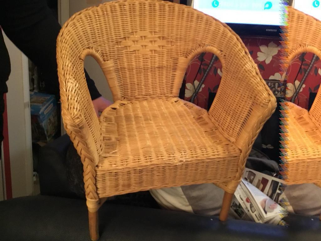 Child S Wicker Chair