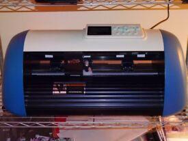 CONTOUR CUTTER PLOTTER new. Smurf HWQ330 A3
